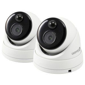 2 x 1080p Thermal Sensing Cameras (Dome cameras) For use with either of our DVR kits