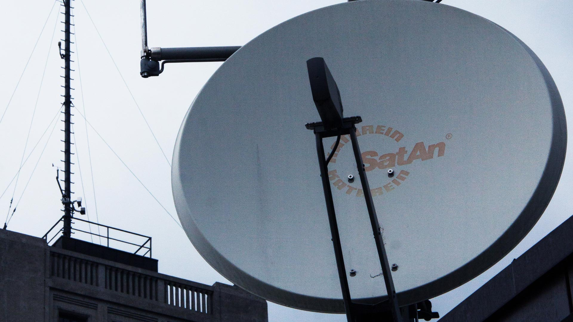 A Satellite Dish installed by one of our team